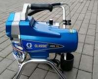 Аренда покрасочного аппарат GRACO Classic 495