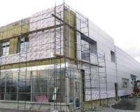 Фасадные работы. Вентилируемые фасады