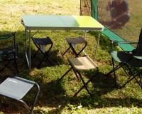 Аренда стола и стульев для барбекю
